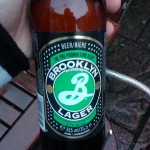 brooklyn lager me